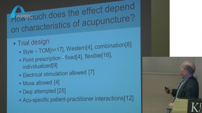Why so many published trials of acupuncture are 'negative' - Hugh Macpherson