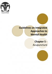 Guidelines on Integrated Mental Health - Acupuncture Chapter